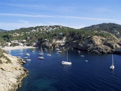 Cala Vedella, Ibiza, Balearic Islands, Spain, Mediterranean
