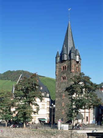 Bernkastel-Kues, Mosel Valley, Rheinland-Pfalz, Germany
