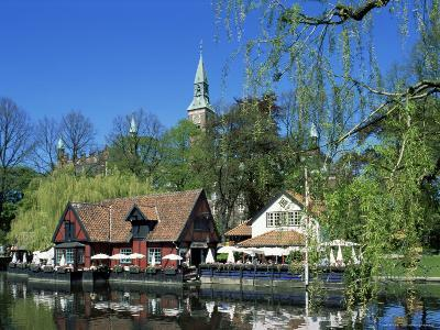 Tivoli Gardens, Copenhagen, Denmark, Scandinavia