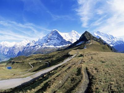 Eiger, Monch and Jungfrau, Bernese Oberland, Swiss Alps, Switzerland