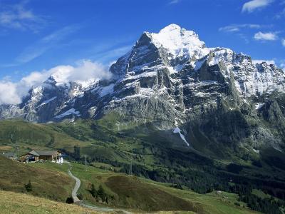 The Wetterhorn, Near Grindelwald, Bernese Oberland, Swiss Alps, Switzerland