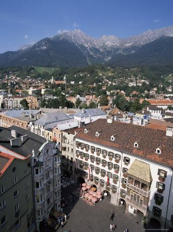 Old Town with Goldenes Dachl, Innsbruck, Austria