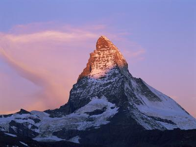 Peak of the Matterhorn, 4478M, Valais, Swiss Alps, Switzerland