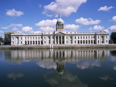 Customs House and River Liffey, Dublin, Eire (Republic of Ireland)