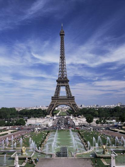 Trocadero And The Eiffel Tower Paris France Photographic