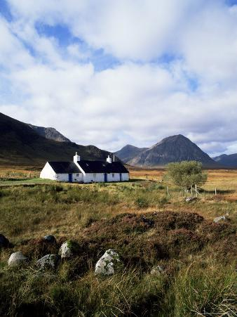 Landscape Near Glencoe, Highland Region, Scotland, United Kingdom