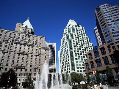 Robson Square, Vancouver, British Columbia, Canada
