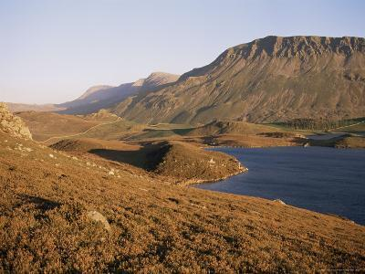 Cadair Idris Mountain and Gregennen Lake, National Trust Area, Snowdonia National Park, Wales