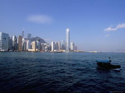 Hong Kong Skyline and Victoria Harbour, Hong Kong, China