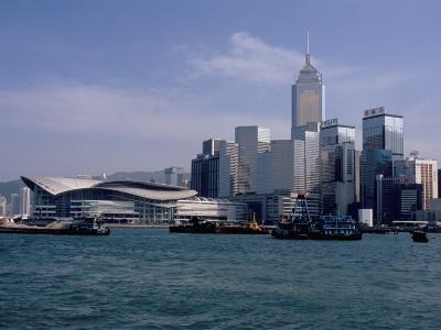 Hk Convention and Exhibition Center, Victoria Harbour, Hong Kong, China