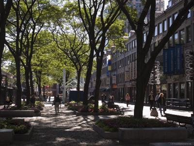 Quincy Market, Boston, Massachusetts, New England, USA