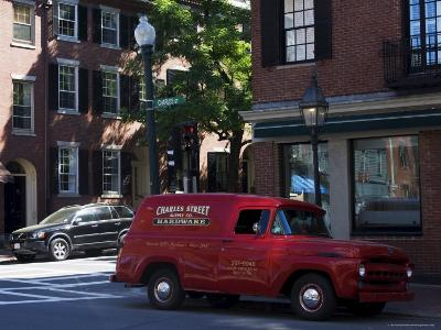 Charles Street, Beacon Hill, Boston, Massachusetts, New England, USA