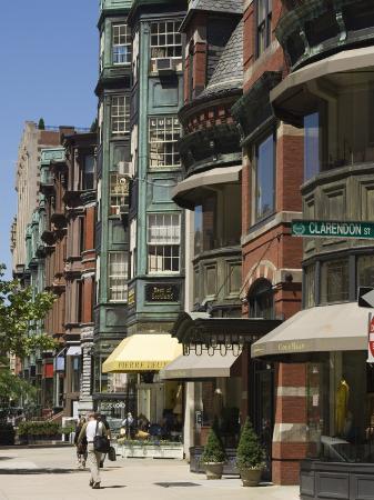 Newbury Street, Boston, Massachusetts, New England, USA