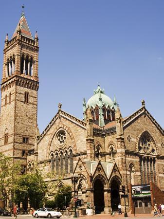 The New Old South Church, Back Bay, Boston, Massachusetts, New England, USA