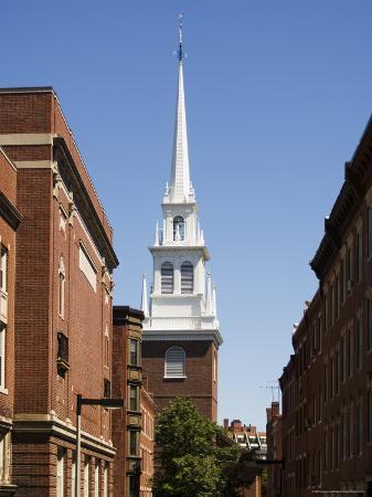 Old North Church, North End, Boston, Massachusetts, New England, USA