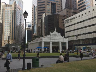 The Financial District, Raffles Square, Singapore, Southeast Asia