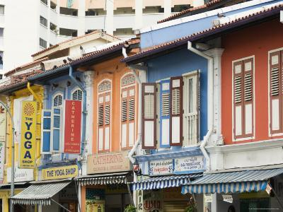 Shops in Little India, Singapore, Southeast Asia