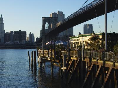The River Cafe Under Brooklyn Bridge, Brooklyn, New York City, New York, USA