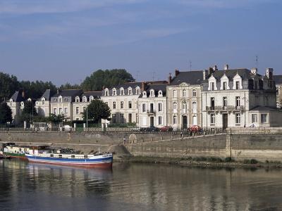 Quai Des Carmes on River Maine, Angers, Anjou, Pays De La Loire, France