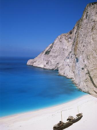 Shipwreck Cove, Kefalonia, Ionian Islands, Greece