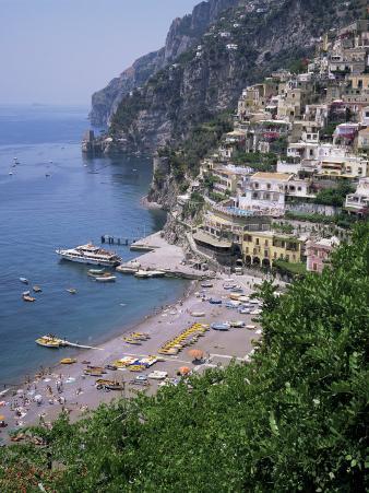 Positano, Costiera Amalfitana, Unesco World Heritage Site, Campania, Italy