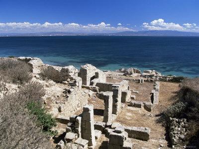 Tharros, Roman Site Near Oristano, Sardinia, Italy, Mediterranean