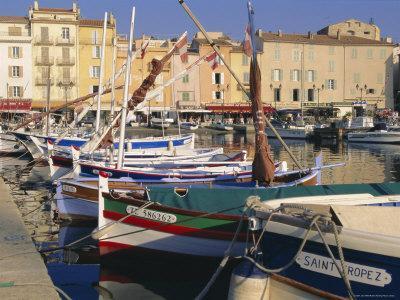 St. Tropez, Var, Cote d'Azur, Provence, France