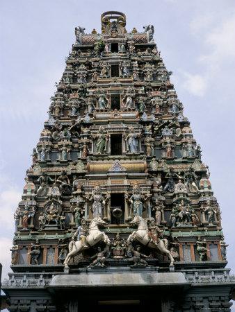 Sri Mahamariamma, Hindu Temple, Kuala Lumpur, Malaysia, Southeast Asia