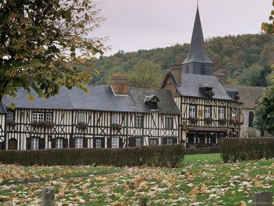 Le Bec Hellouin, Haute Normandie (Normandy), France