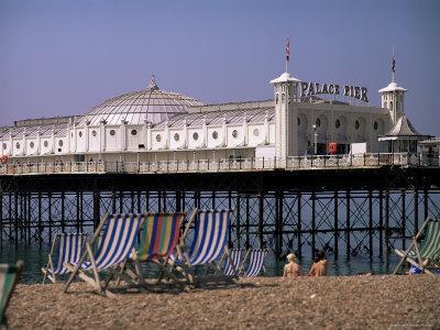 Brighton Pier (Palace Pier), Brighton, East Sussex, England, United Kingdom