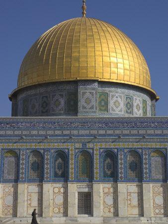 The Dome of the Rock, Old City, Unesco World Heritage Site, Jerusalem, Israel, Middle East