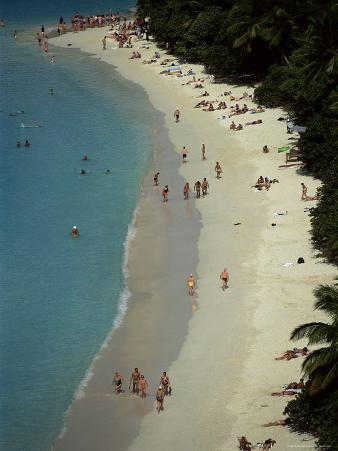 Trunk Bay, St. John, U.S. Virgin Islands, West Indies, Caribbean, Central America