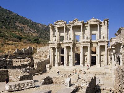 Library of Celsus, Ephesus, Anatolia, Turkey, Eurasia