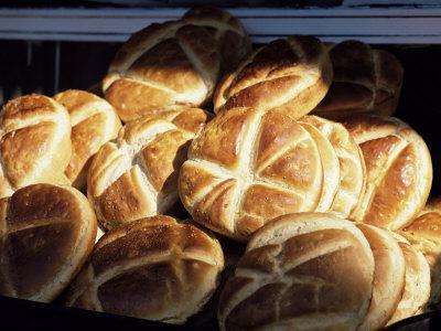 One of Many Types of Turkish Bread, Turkey, Eurasia