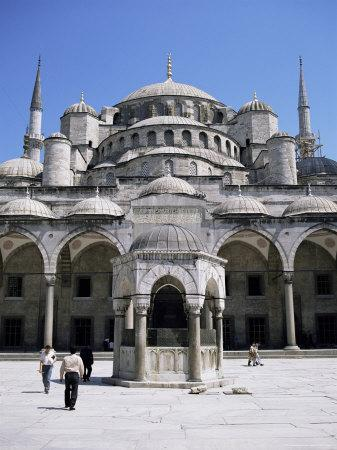 Blue Mosque (Sultan Ahmet Mosque), Unesco World Heritage Site, Istanbul, Turkey, Eurasia