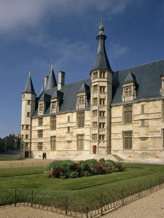 Exterior of Ducal Palace, Nevers, Bourgogne (Burgundy), France