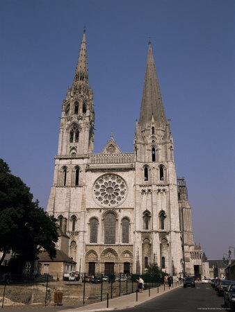 Chartres Cathedral, Unesco World Heritage Site, Chartres, Eure-Et-Loir, Centre, France