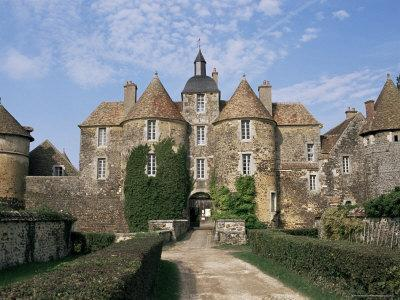 Ratilly Castle, Puisaye, Picardie (Picardy), France