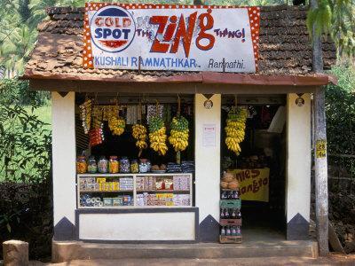 Village Shop, Hindu Ponda, Goa, India