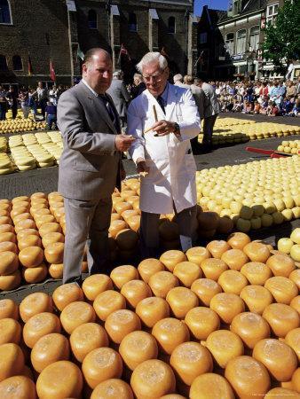 A Bargain is Struck, Friday Cheese Auction, Alkmaar, Holland