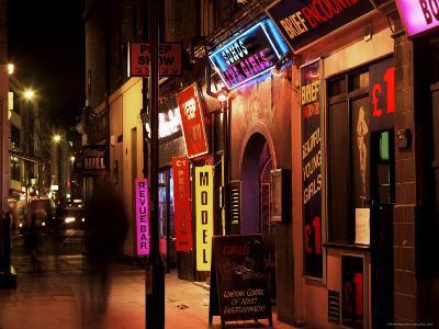 Sex Shops, Soho, London, England, United Kingdom