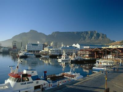 The V & A Waterfront and Table Mountain Cape Town, Cape Province, South Africa