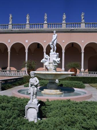 The John and Mable Ringling Museum of Art, Sarasota, Florida, USA