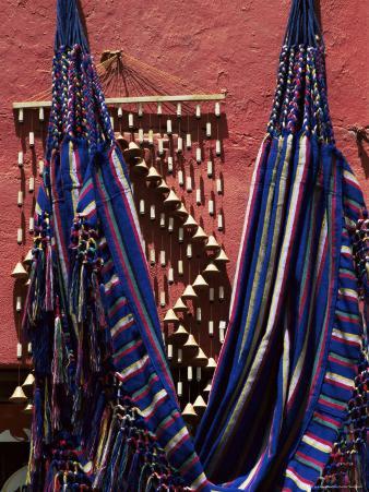 Hammocks for Sale, Raquira, Boyaca District, Colombia, South America