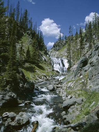 Rapids, Yellowstone National Park, Unesco World Heritage Site, Wyoming, USA