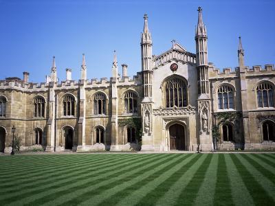 Corpus Christi College, Cambridge, Cambridgeshire, England, United Kingdom