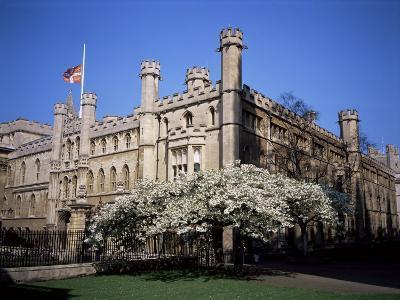 Old School Buildings from Kings College, Cambridge, Cambridgeshire, England, United Kingdom