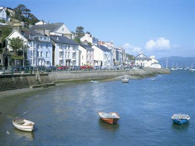 Dovey Estuary and Town, Aberdovey, Gwynedd, Wales, United Kingdom
