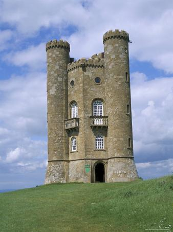 Broadway Tower, Broadway, Worcestershire, Cotswolds, England, United Kingdom