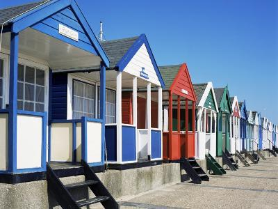 Beach Huts, Southwold, Suffolk, England, United Kingdom